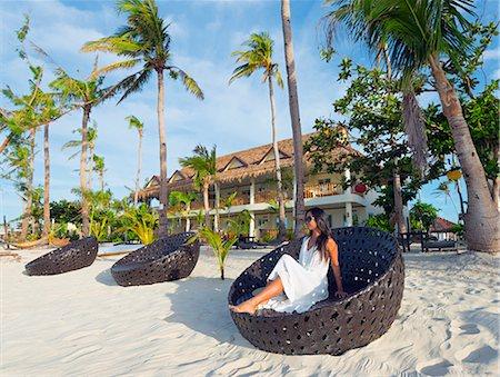 sandi model - South East Asia, Philippines, The Visayas, Cebu, Malapascua island, girl on Bounty beach (MR) Stock Photo - Rights-Managed, Code: 862-08091026