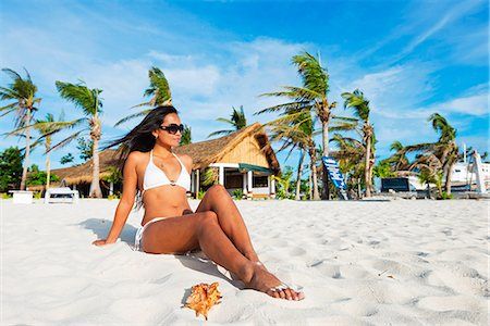 sandi model - South East Asia, Philippines, The Visayas, Cebu, Malapascua island, girl on Bounty beach (MR) Stock Photo - Rights-Managed, Code: 862-08091028