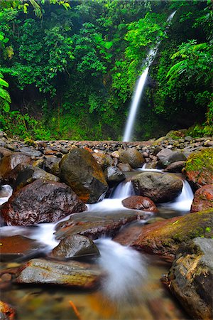 streams scenic nobody - South East Asia, Philippines, south east Luzon, Legazpi, Busay falls Stock Photo - Rights-Managed, Code: 862-08091022