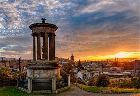 Europe, Scotland, Edinburgh, Carlton Hill Stock Photo - Rights-Managed, Code: 862-08091060