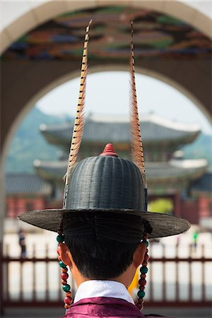 Asia, Republic of Korea, South Korea, Seoul, Gyeongbokgung, changing of the guards ceremony Stock Photo - Rights-Managed, Code: 862-08091140