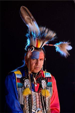 Lakota Indian jim Yellowhawk, South Dakota, USA MR Stock Photo - Rights-Managed, Code: 862-08091408