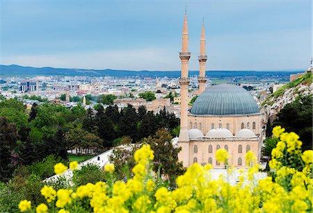Turkey, Eastern Anatolia, Sanliurfa   Urfa, Dergah, Mevlid i Halil Mosque Stock Photo - Rights-Managed, Code: 862-08274012