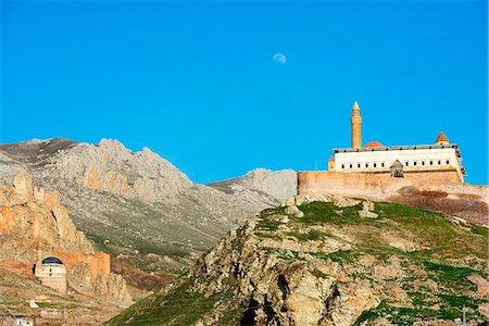 Turkey, Eastern Anatolia, Dogubayazit, Ishak Pacha Palace (Ishak Pasa Sarayi), UNESCO site Stock Photo - Rights-Managed, Code: 862-08274026