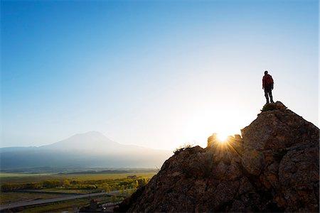 Turkey, Eastern Anatolia, Dogubayazit, Mt Ararat (5137m), sunrise Stock Photo - Rights-Managed, Code: 862-08274034