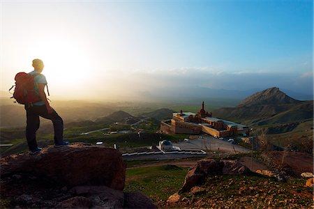 friluftsliv - Turkey, Eastern Anatolia, Dogubayazit, Ishak Pacha Palace (Ishak Pasa Sarayi), UNESCO site Stock Photo - Rights-Managed, Code: 862-08274031