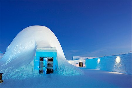 european bar building - Arctic Circle, Lapland, Scandinavia, Sweden, Kiruna, Ice Hotel, Ice bar Stock Photo - Rights-Managed, Code: 862-08273843
