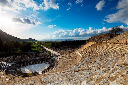 Turkey, Aegean, Selcuk, Ephesus, ancient Roman ruins Stock Photo - Rights-Managed, Code: 862-08273956