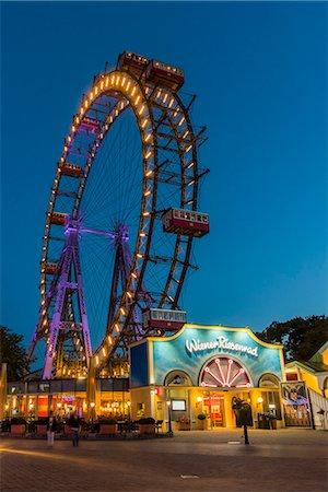 dpruter - Wiener Riesenrad, Prater, Vienna, Austria Stock Photo - Rights-Managed, Code: 862-08698678