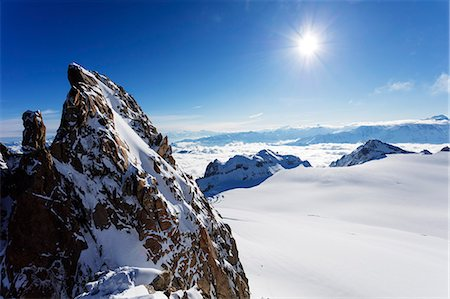 Europe, Switzerland, Valais, Swiss French border, Glacier du Trient, Aiguille du Tour 3540m Stock Photo - Rights-Managed, Code: 862-08704847