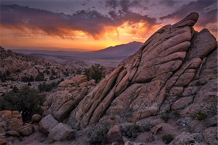 USA, California, Eastern Sierra, Rocks at Benton Hot Springs Stock Photo - Rights-Managed, Code: 862-08719927