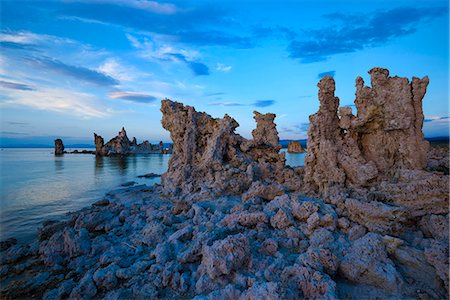 USA, California, Eastern Sierra, Mono Lake, Tufa Reserve at sunset Stock Photo - Rights-Managed, Code: 862-08719929