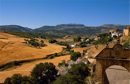 road landscape - Outskirts of Ronda. Stock Photo - Rights-Managed, Code: 862-03354265