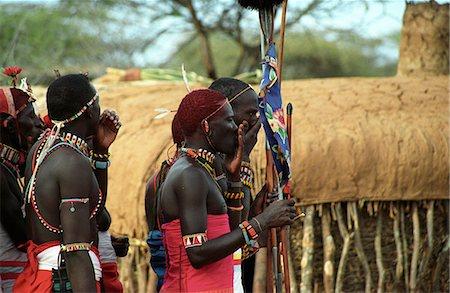 Laikipiak Maasai Stock Photo - Rights-Managed, Code: 862-03366355