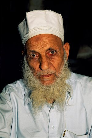 punjabi - An elderly resident of Lahore,capital of the Punjab and Pakistan's most cultured city. Stock Photo - Rights-Managed, Code: 862-03360411