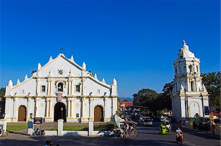 Philippines,Luzon Island,Ilocos Province,Vigan City. St Paul's Cathedral in Earthquake Baroque style. Stock Photo - Rights-Managed, Code: 862-03360781