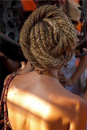 India,Goa,Anjuna market. Dreadlocks. Stock Photo - Rights-Managed, Code: 862-03712050