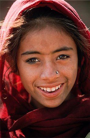 Indian girl, State of Rajasthan, India Stock Photo - Rights-Managed, Code: 862-03712106