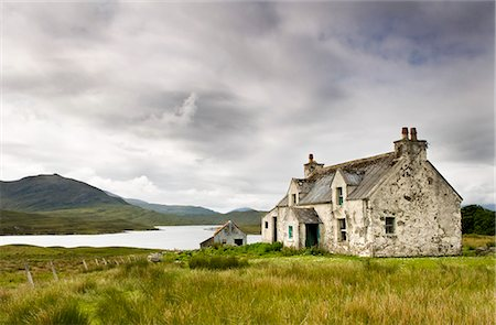 Derelict farmhouse near Arivruach, Isle of Lewis, Hebrides, Scotland, UK Stock Photo - Rights-Managed, Code: 862-03713386