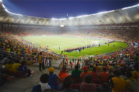 soccer fan - Football fans at World Cup match, Port Elizabeth, Eastern Cape, South Africa Stock Photo - Rights-Managed, Code: 862-03808411