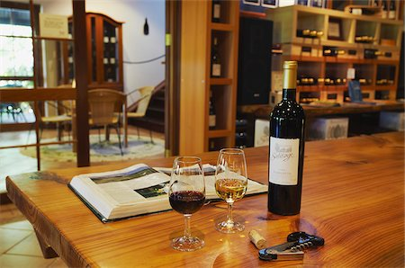 Wine tasting room in Salitage winery, Pemberton, Western Australia, Australia Stock Photo - Rights-Managed, Code: 862-03887164
