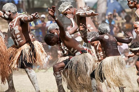 queensland - Australia, Queensland, Laura.  Indigenous dance troupe at the Laura Aboriginal Dance Festival. Stock Photo - Rights-Managed, Code: 862-03887269