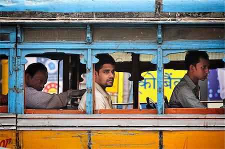 Streets of Kolkata (Calcutta), India Stock Photo - Rights-Managed, Code: 862-03888417
