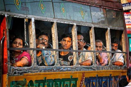 Streets of Kolkata. India Stock Photo - Rights-Managed, Code: 862-03888428