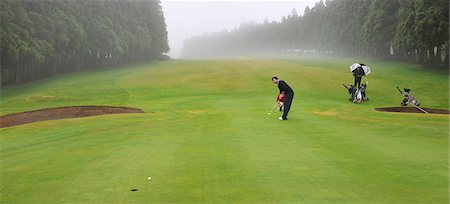 Terceira Golf Course, Azores islands, Portugal Stock Photo - Rights-Managed, Code: 862-03889243
