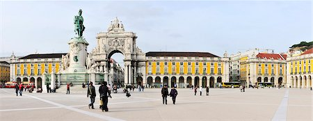 Terreiro do Paco, Lisbon, Portugal Stock Photo - Rights-Managed, Code: 862-03889342