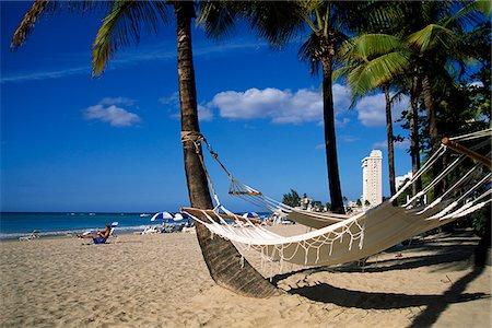 Isla Verde Beach, San Juan, Puerto Rico, Caribbean Stock Photo - Rights-Managed, Code: 862-03889417
