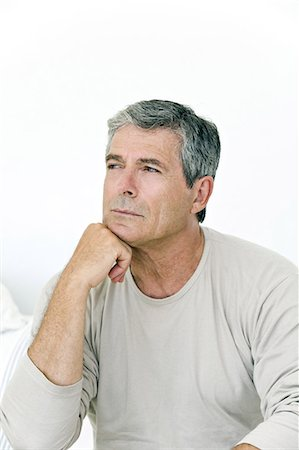 Portrait of a senior man, indoors Stock Photo - Rights-Managed, Code: 877-06832410