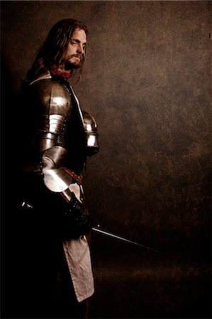 "Knight ""After the battle"" Stock Photo - Rights-Managed, Code: 877-07460499"