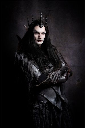 Dark Elf lord Stock Photo - Rights-Managed, Code: 877-07460632