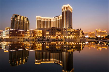 China,Macau,Cotai,The Venetian Hotel and Casino Stock Photo - Rights-Managed, Code: 877-08128746