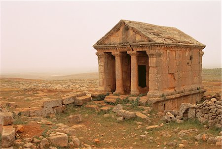 Byzantine Ruins of Ruweiha Syria Stock Photo - Rights-Managed, Code: 873-06440348