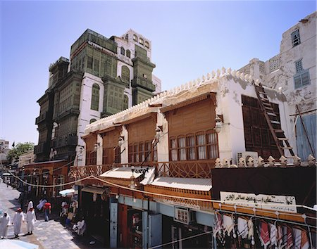 Street and Buildings Jeddah, Saudi Arabia Stock Photo - Rights-Managed, Code: 873-06440359