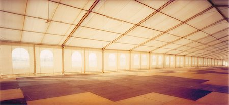 Interior of Big Tent Stock Photo - Rights-Managed, Code: 873-06440774