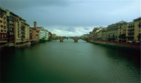 Arno River Florence, Italy Stock Photo - Rights-Managed, Code: 873-06440776
