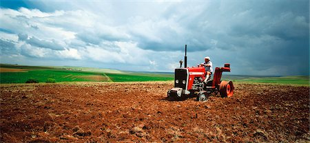 Man Driving Broken Tractor South Africa Stock Photo - Rights-Managed, Code: 873-06440780