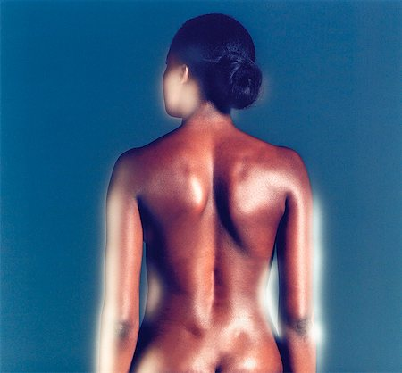 Woman's Back Stock Photo - Rights-Managed, Code: 873-06440792