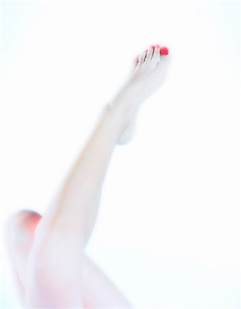 Woman with Caviar on her Toes Stock Photo - Rights-Managed, Code: 873-06440801