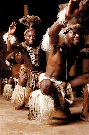 Zulu Dancers, Shakaland Stock Photo - Rights-Managed, Code: 873-07156964