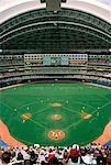 Match de baseball, Skydome, Toronto, Ontario, Canada