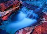 Red Rock Canyon Parc National Waterton Lakes (Alberta), Canada