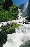 Waterfall Yosemite Falls, California, USA