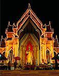 Temple de Phra Pathom Chedi de Nakhon Pathom, Thaïlande