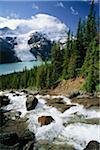 Rodelbahn Stürze und Mount Robson British Columbia, Kanada