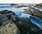 Pacific Ocean Big Sur Coastline California, USA