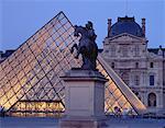 The Louvre at Dusk Paris, France